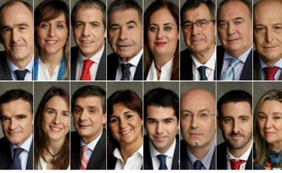 El equipo de Alberto Uribe-Echevarría