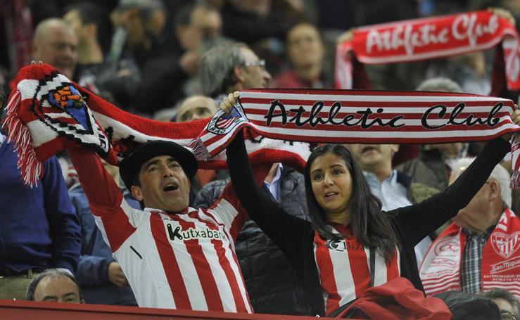 Estas son las imágenes que nos deja el partido Athletic - Valladolid