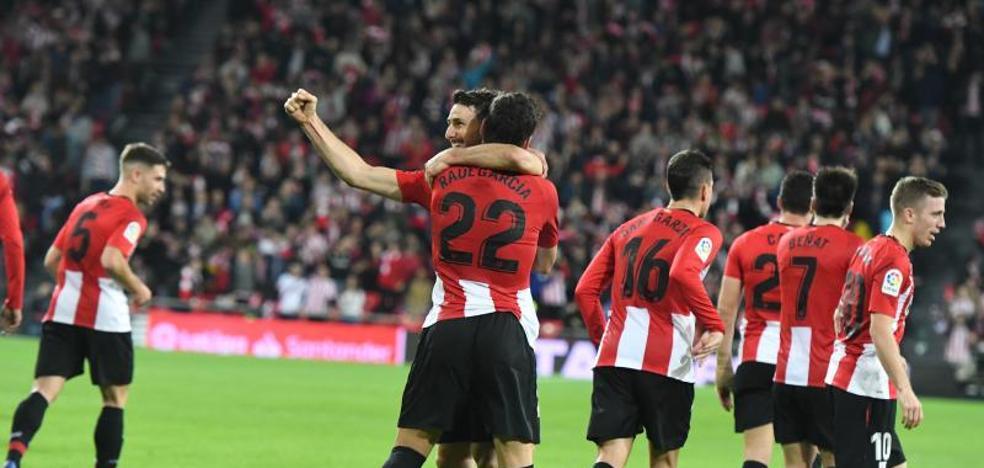 El uno a uno del Athletic - Valladolid