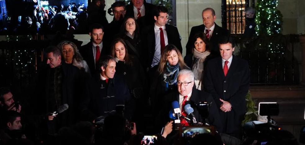 «Tengo la conciencia tranquila», afirma Uribe-Echevarría