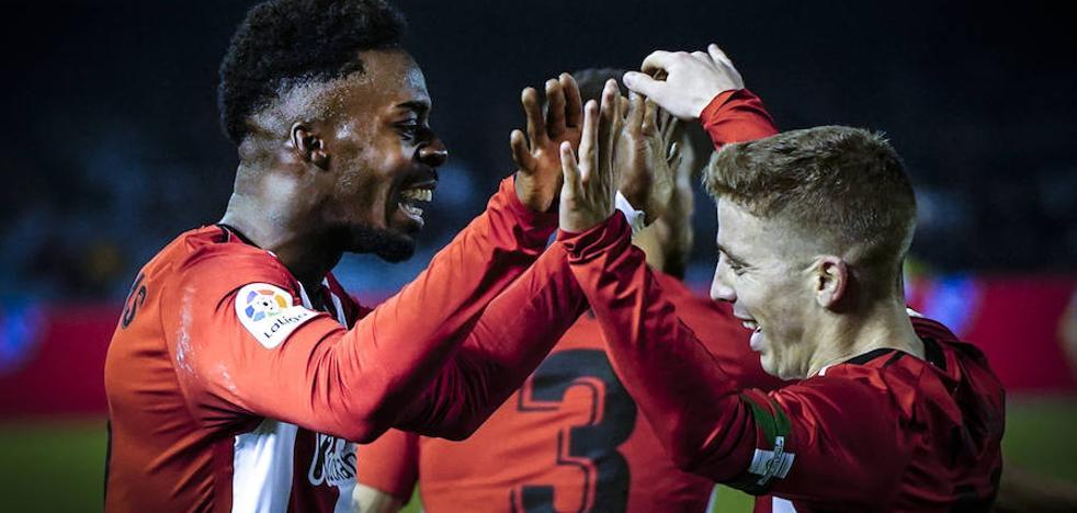 El Athletic vuelve de Vigo con un tesoro