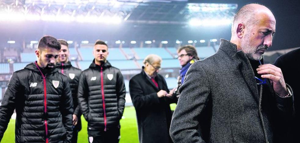 Elizegi se reúne hoy en Madrid con los presidentes de la Federación y la Liga