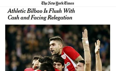 'The New York Times' se hace eco de la delicada temporada del Athletic, un «equipo único»