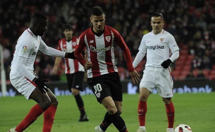 Las mejores imágenes del partido de Copa contra el Sevilla