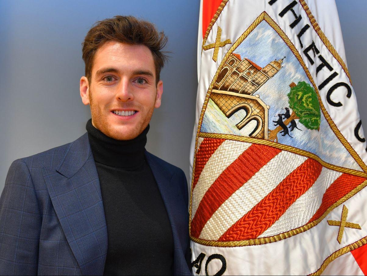 Presentación de Ibai Gómez como nuevo jugador del Athletic