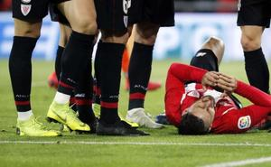 Alivio en el Athletic: Aduriz no tiene rotura