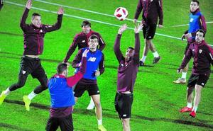 El Athletic, ante el reto de remontar en la Copa con los menos habituales