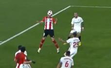 Vídeo del gol y resumen del Sevilla - Athletic