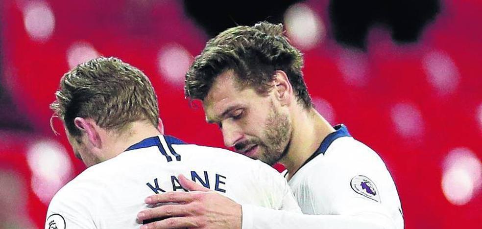 Llorente asume que el Tottenham no le dejará salir en el mercado de invierno