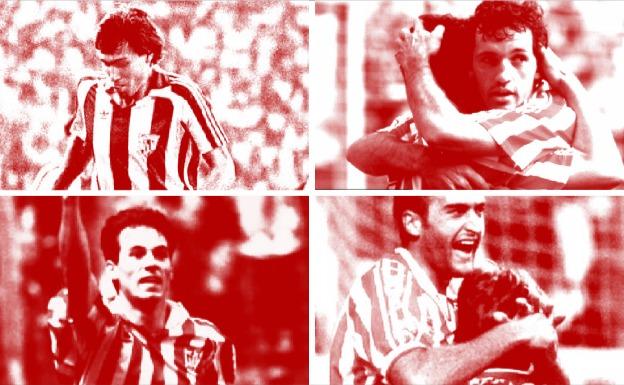 Cuatro leones del Athletic que ficharon por el Barça