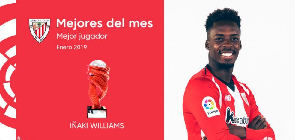 Williams, mejor jugador de la Liga en enero