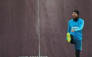 Messi viaja a Bilbao