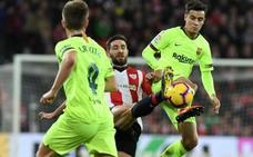 El uno a uno del Athletic - Barcelona