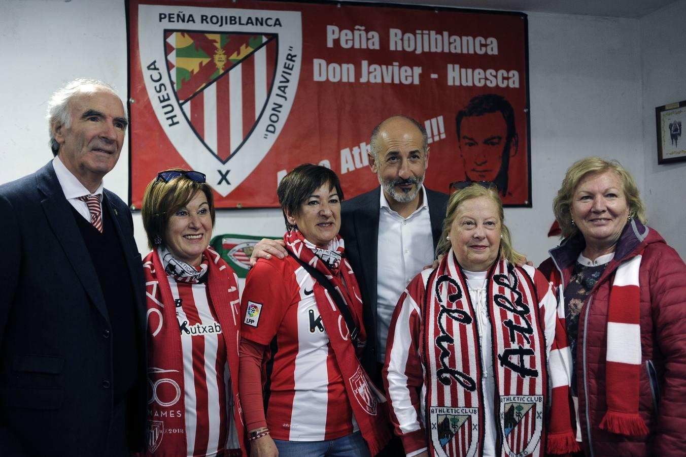 Sentimiento rojiblanco en Huesca