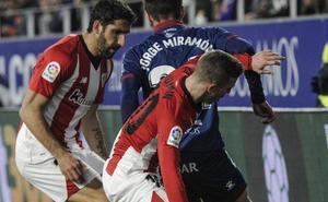 El uno a uno del Huesca-Athletic