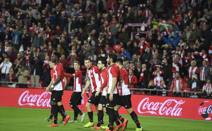 El Athletic-Eibar, en imágenes