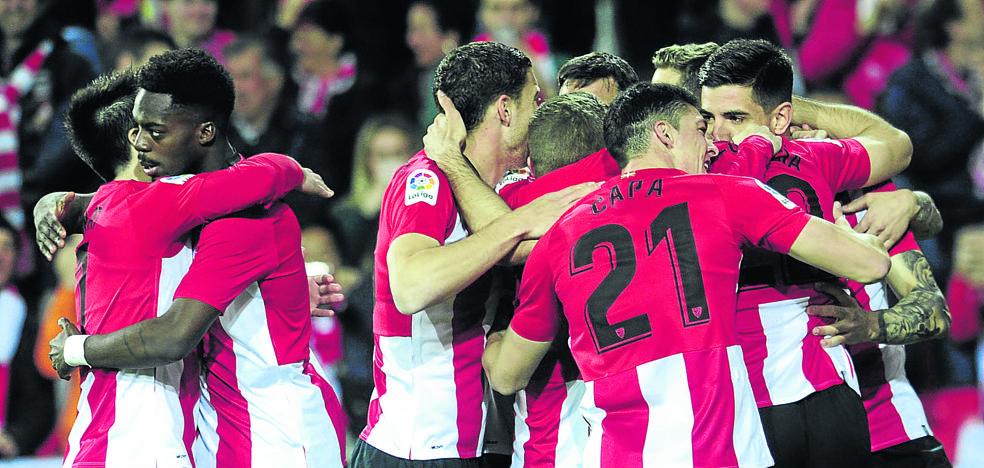 Los números ya permiten al Athletic soñar con Europa