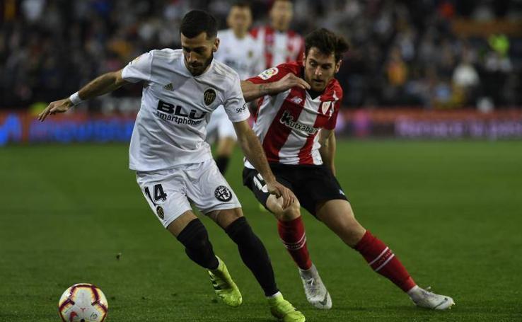 Las mejores imágenes del Valencia - Athletic