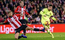 Iñigo Martínez, baja contra el Atlético