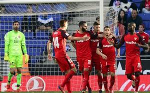La victoria del Sevilla vuelve a dejar Europa a seis puntos