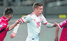 Iker Muniain debuta con La Roja en un partido oficial