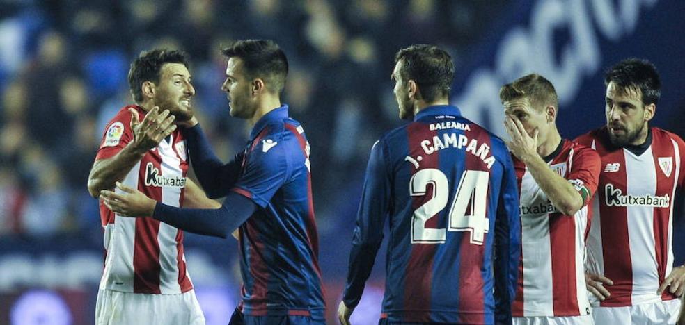 La derrota que disparó al Athletic, la victoria que hundió al Levante