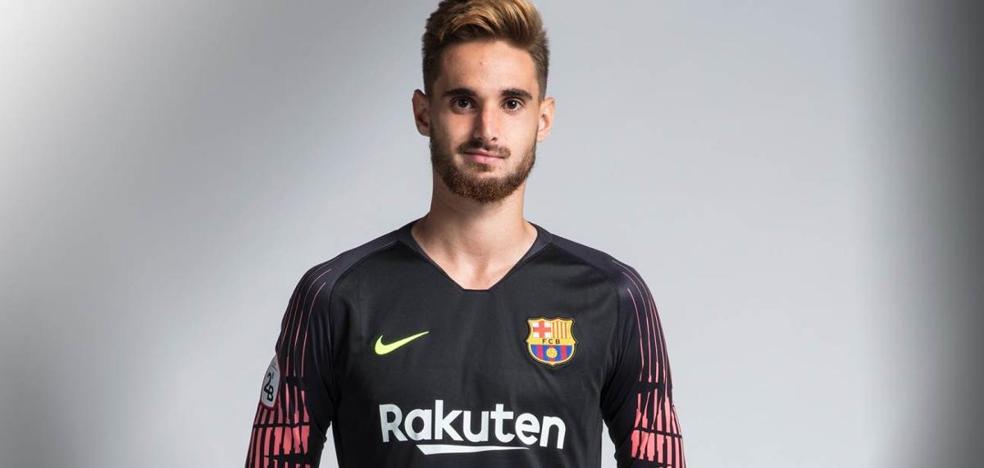 Ibaigane se interesa por Ezkieta, portero navarro del Barcelona B