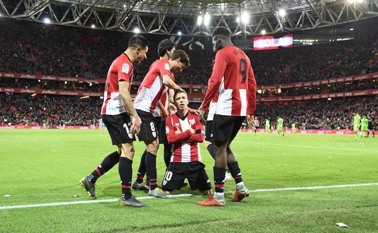 El Athletic-Levante, en imágenes