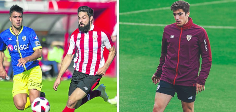 El Athletic busca retener a Villalibre y Larrazabal, los goleadores del filial