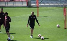 Último entrenamiento del Athletic antes del partido ante el Real Madrid
