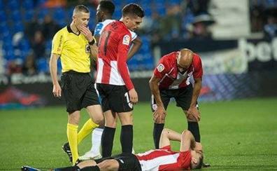 Yeray sufre una lesión muscular