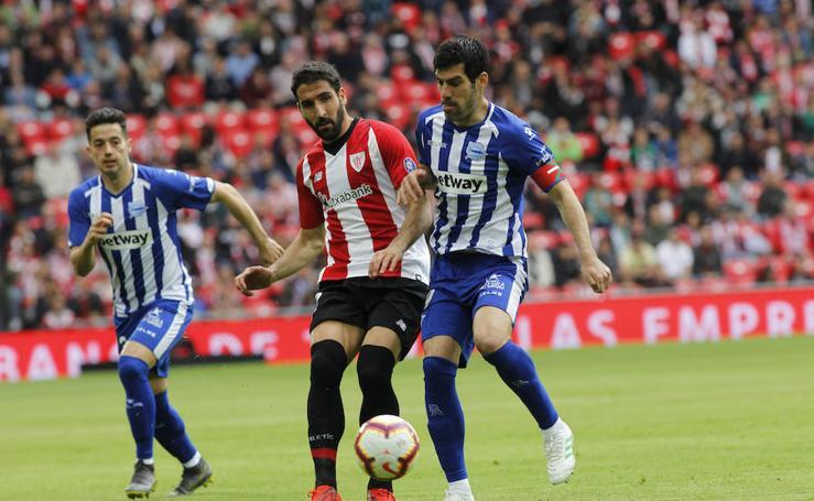 Las imágenes del Athletic-Alavés