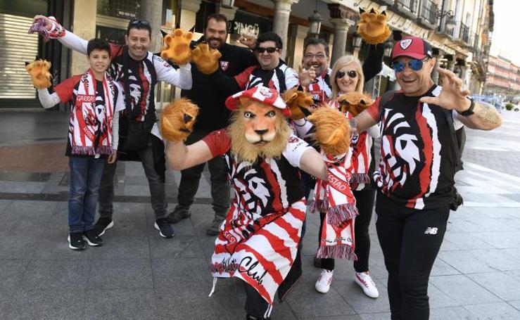 El ambiente previo al partido Valladolid - Athletic