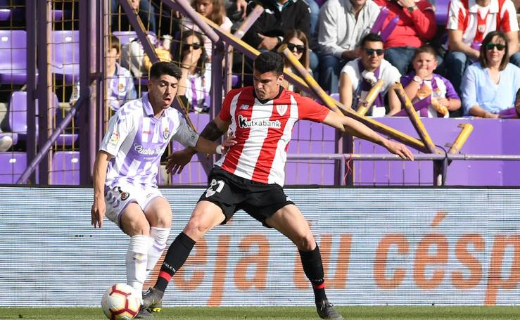 El Valladolid-Athletic, en imágenes
