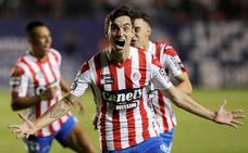 Unai Bilbao, héroe en México: da el ascenso al San Luis contra el equipo que entrena Maradona