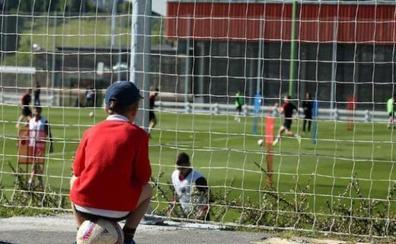 Una sesión sin Muniain y Yuri y con siete jugadores del Bilbao Athletic
