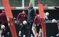 Garitano: «Culminar la remontada de estos meses con la clasificación sería inolvidable»