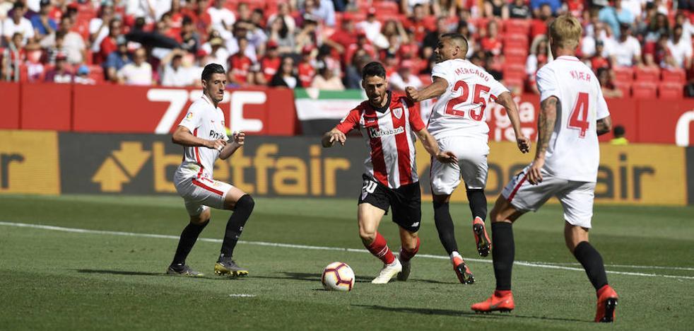 Vídeos de los goles y resumen del Sevilla - Athletic
