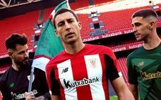 El Athletic recupera el verde para su segunda camiseta