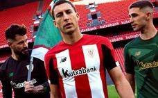 Las últimas camisetas del Athletic