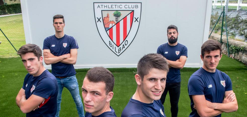 El Athletic confirma los seis 'cachorros' que harán la pretemporada