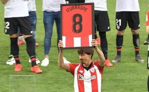 Iturraspe se despide del Athletic y pide «que lo que pase en el vestuario se quede ahí»