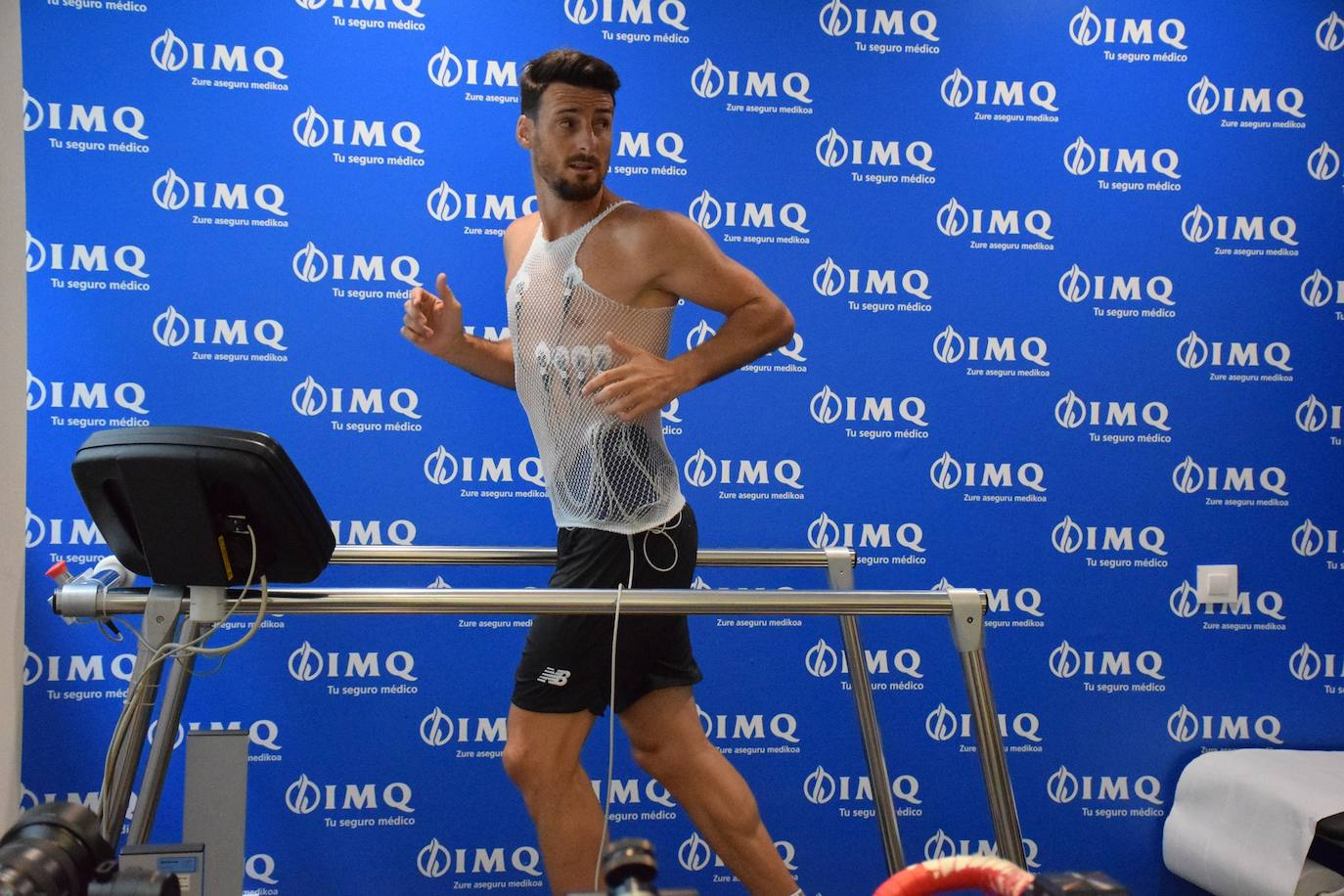Iñigo Martínez se incorporará más tarde a los entrenamientos