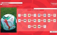 El calendario del Athletic en la Liga 2019-20