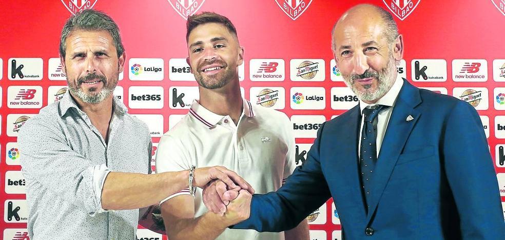 «Es un jugador que podía elegir y ha elegido el Athletic»