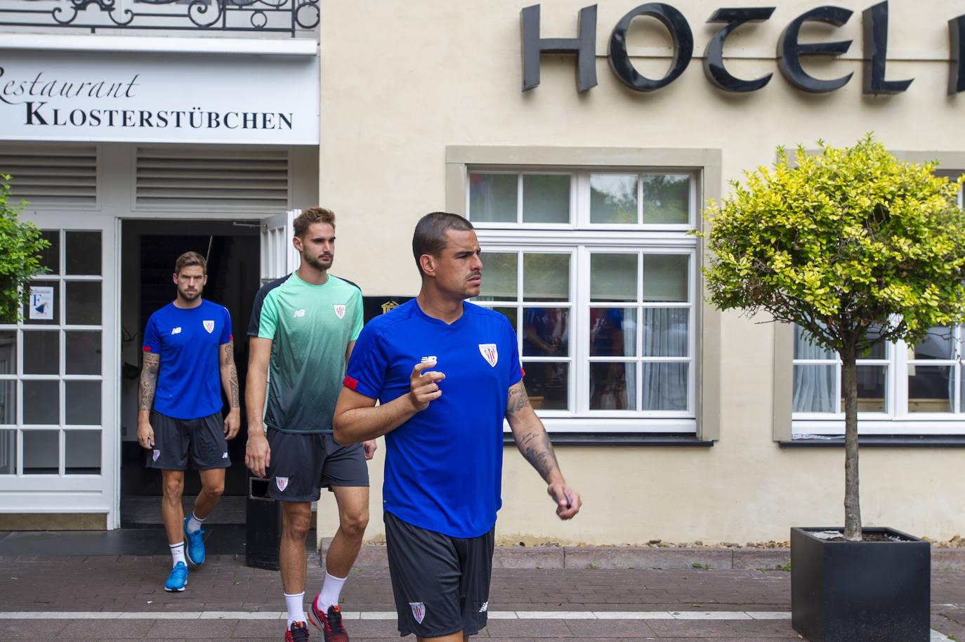 El entrenamiento del Athletic, en imágenes