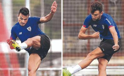 Ganea y Andoni López esperan irse cuanto antes