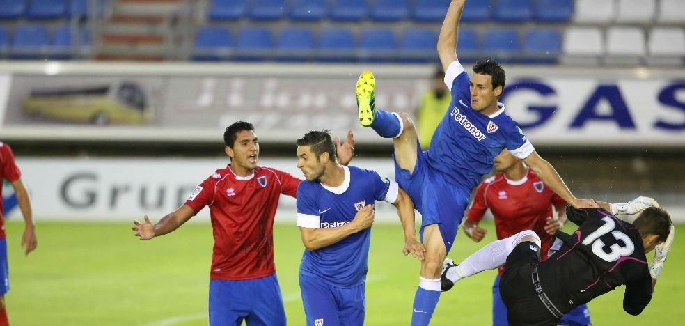 Retrasan media hora el partido del Athletic en Soria