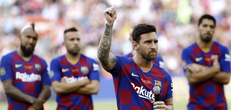 Messi tiene muy complicado jugar en San Mamés en el debut liguero