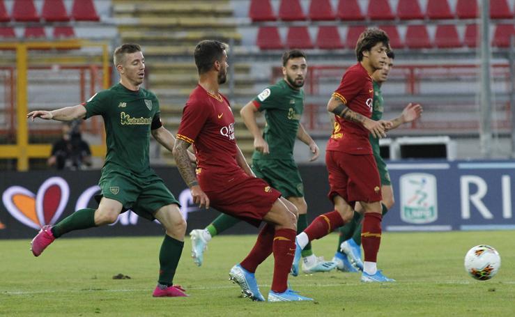 El partido Athletic-Roma, en imágenes